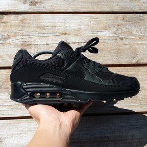 Nike Air Max 90 Recraft Triple Black Running Shoes